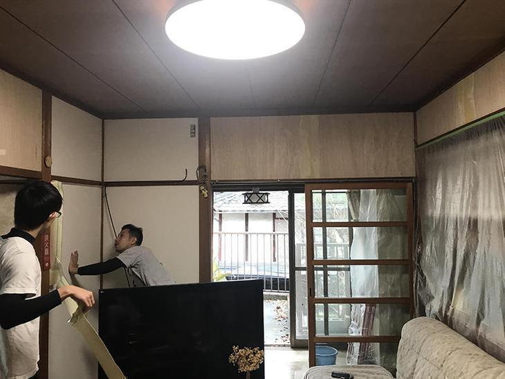本日、守山市にて和室改装工事になります! 完成が楽しみですね!残り少し宜しくお願い致します!担当:上田