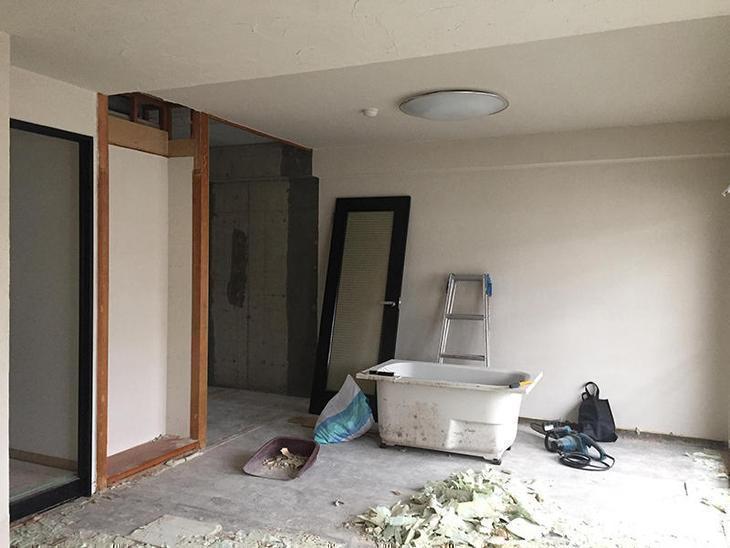 解体工事も本日でほぼ完了になります。来週からは大工さんの工事を進めていきます。担当:内田