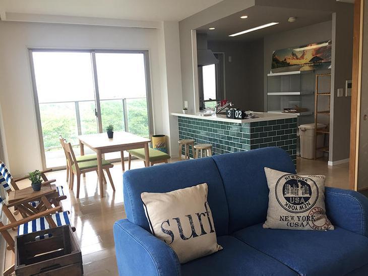 マンション改装も家具が入り、一層雰囲気が良くなりました。週末は完成お披露目会を開催いたします。担当:内田