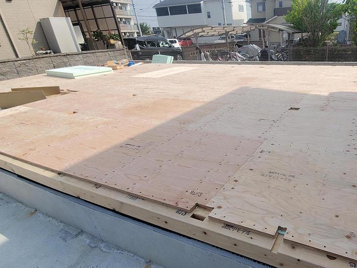 土台・大引き・厚床を施工しました。【野洲店】中村
