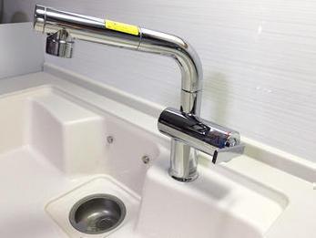 利便性の高い水栓へ!