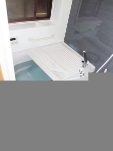 ゆっくり落ち着ける浴室
