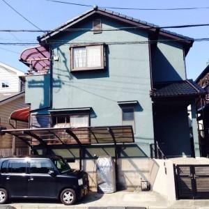 初めての屋根、外壁塗装