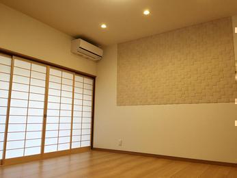 明るく空気のきれいな寝室になりました!