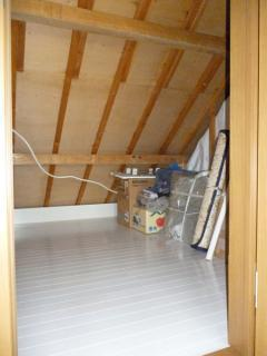 屋根裏を有効活用
