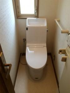 生まれ変わったトイレ空間!