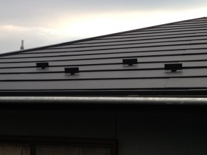二重の屋根で鉄壁防水