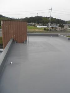 屋上防水で、雨でも安心