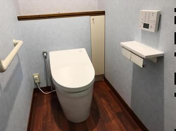 スタイリッシュなトイレ空間へ