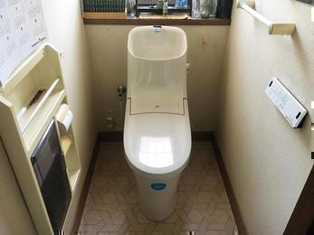 掃除のしやすいLIXILトイレ