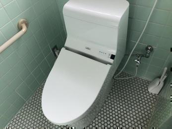 使いやすく、掃除のしやすい快適トイレ