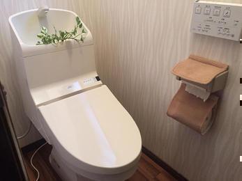 スッキリ快適トイレ