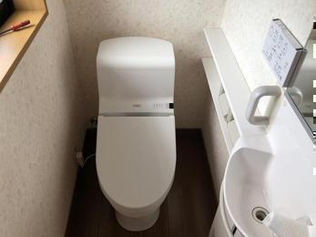 息子のために綺麗なトイレを!