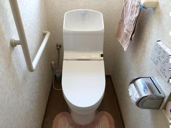 節水大事!節約トイレ!