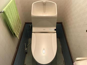 節水トイレへ