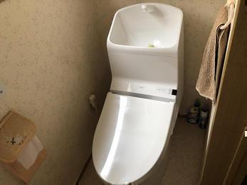 トイレのみ、サクッと交換