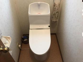快適トイレに大変身!