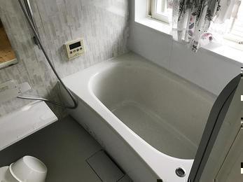 タイルのお風呂からシステムバスへ