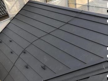 強度のある屋根に!外側から安心を!