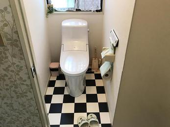 トイレをイメチェン☆