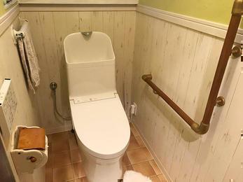 かわいいトイレに大変身!
