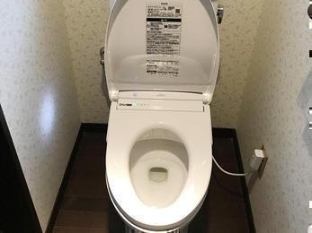 奥様が使いやすいトイレに!