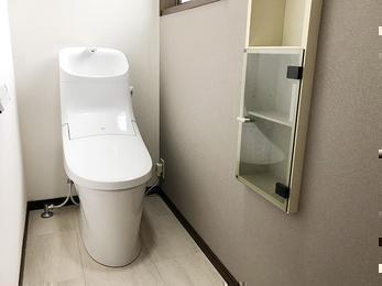 ニオイのもとを防ぐ!新しいトイレで気分一新!