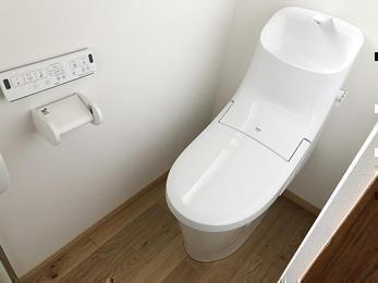 使いやすい水洗トイレに