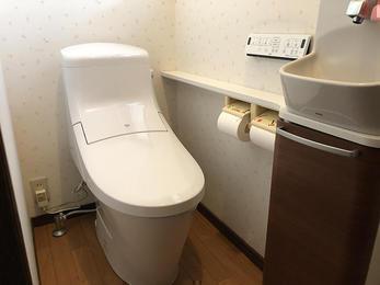 トイレ交換と一緒にバリアフリー!