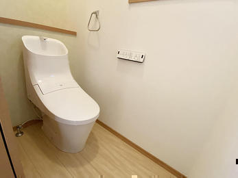 爽やかでお掃除しやすい我が家のトイレ