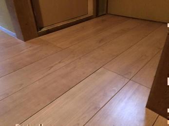 玄関や廊下の床をきれいに