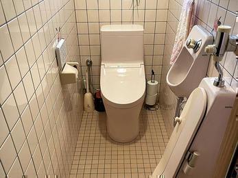 サクッとトイレを新しく!