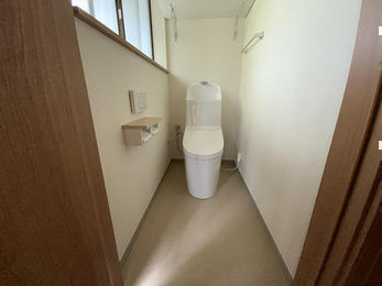 温かみのあるトイレへ