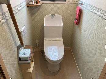 トイレも心も心機一転